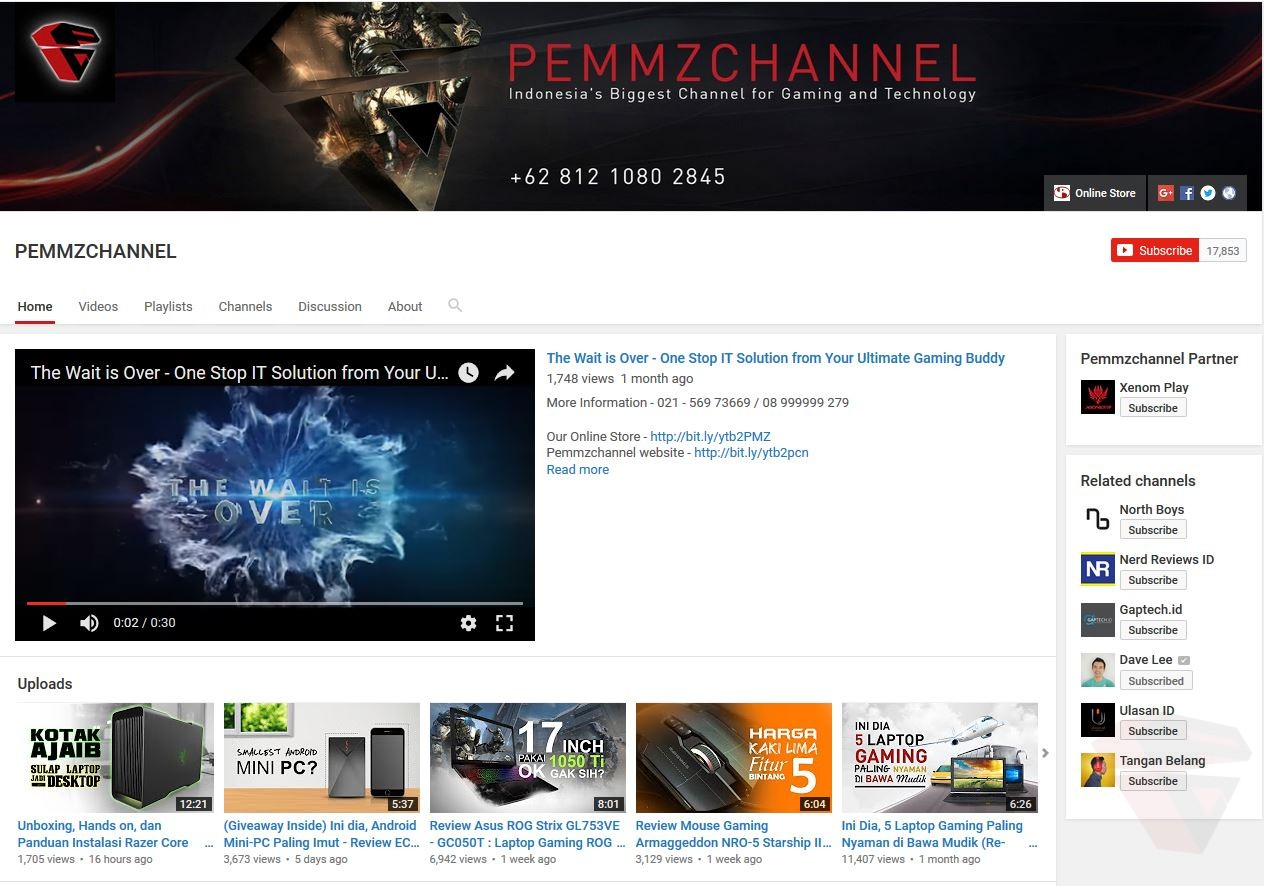 Pemmzchannel Youtube