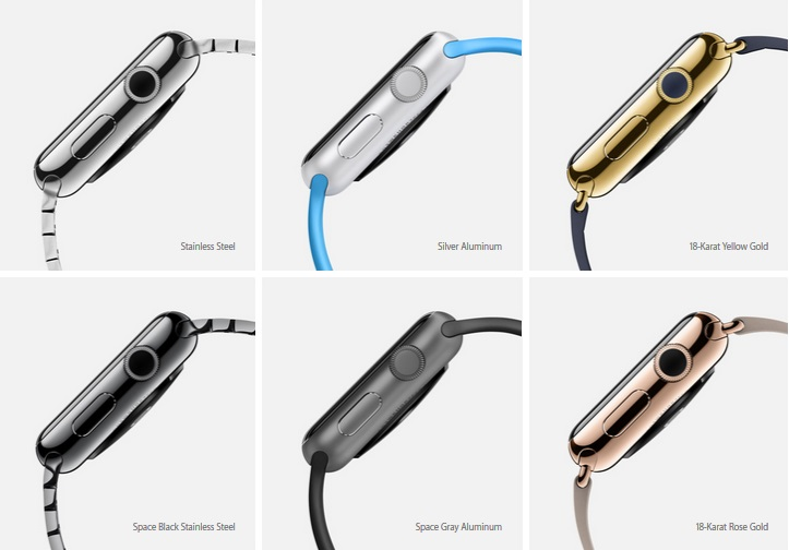 Pilihan Material Apple Watch