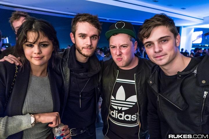 """Selena Gomes, Zedd, Rob Pardo dan  Vince Zampella di pesta """"North"""""""
