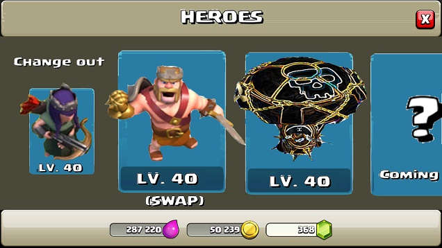Clash of Clans Hero