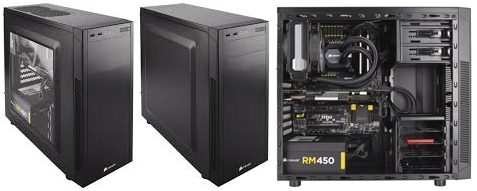 PC Case Carbide Series 100R dan 100R Silent