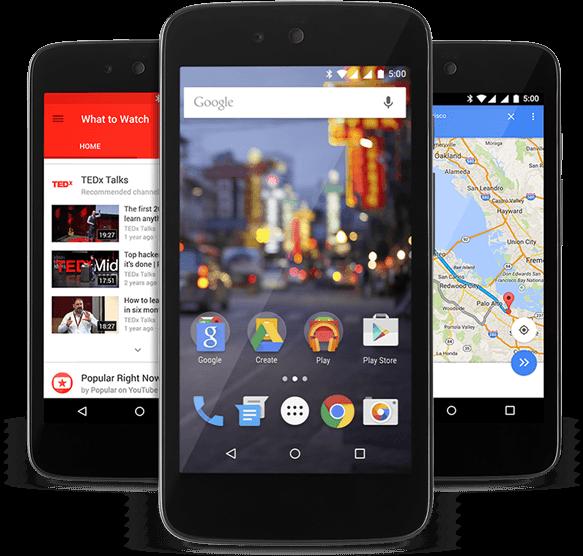 Salah satu device Android One rasa Lokal