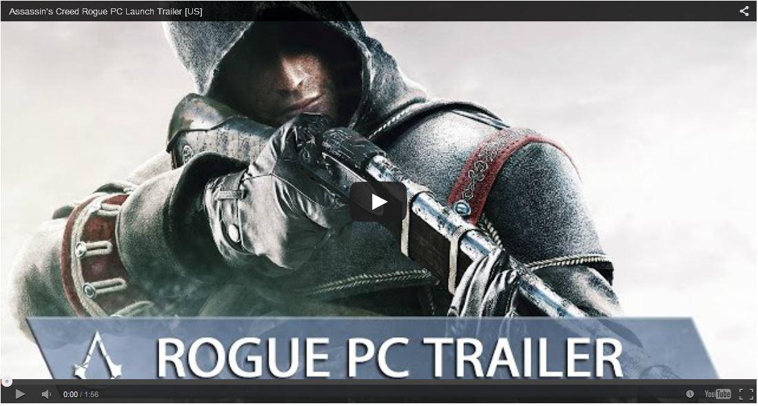 Spesifikasi PC Assassin Creed Rogue