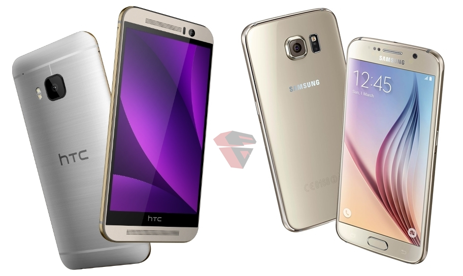 Design: HTC One M9 & Samsung Galaxy S6