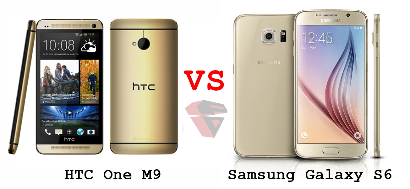 HTC One M9 vs Samsung Galaxy S6