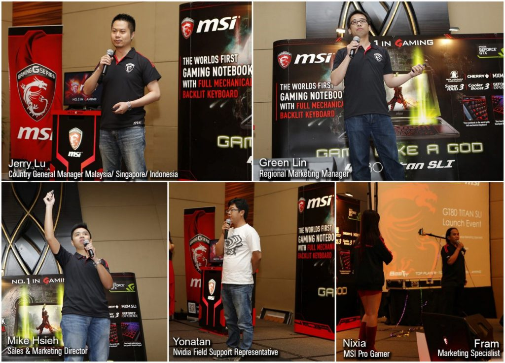 MSi New Product Launching