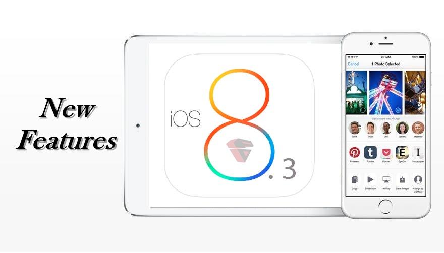 Fitur iOS 8.3