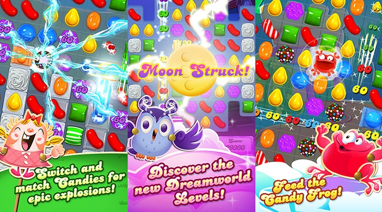 Candy Crush Saga di Windows 10
