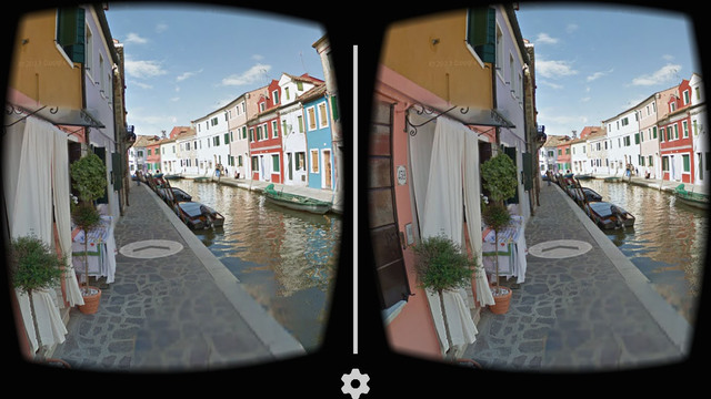 Screenshot Google Cardboard Terbaru di iPhone