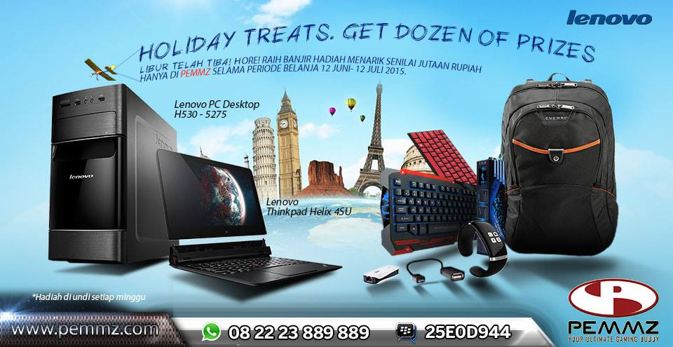 School Holiday Promo: Notebook Lenovo