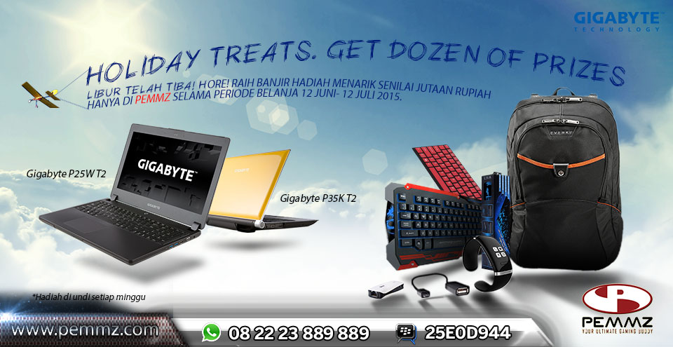 School Holiday Promo: Notebook Gigabyte