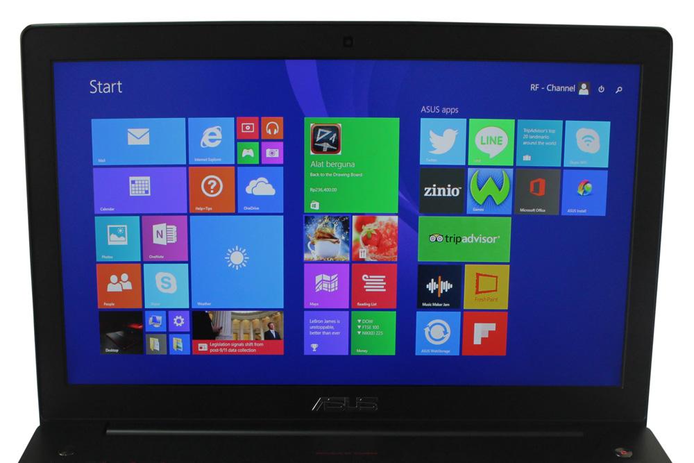 Panel LCD ASUS ROG G550JX