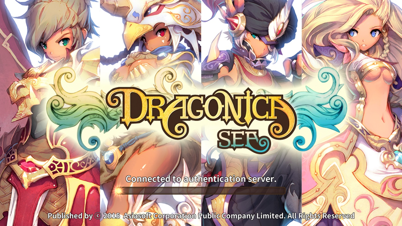 Gameplay LINE Dragonica Mobile