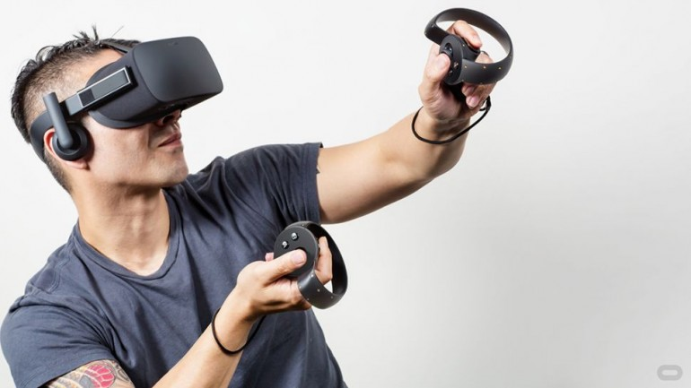 Oculus Touch, VR input controller Oculus Rift