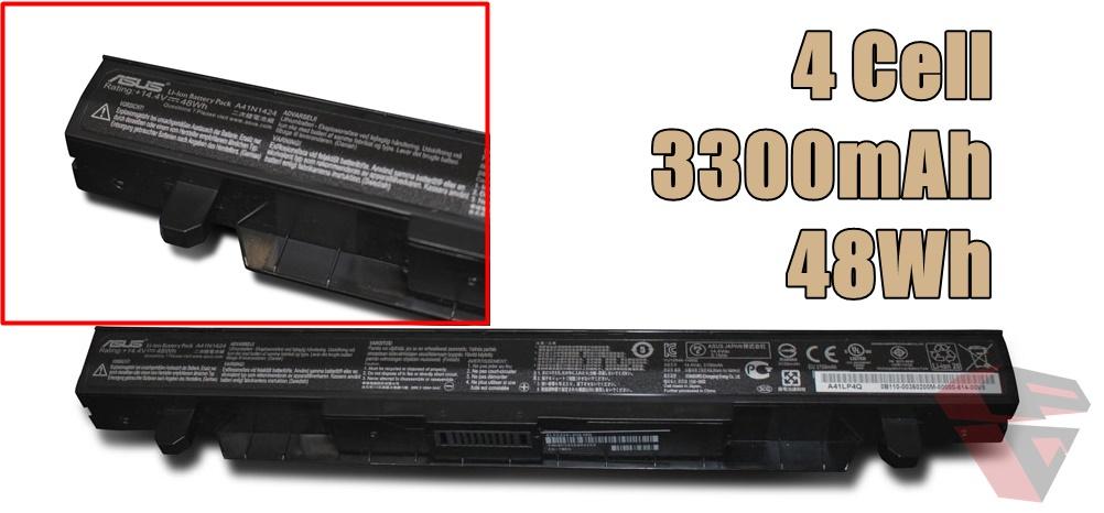 Spesifikasi Battery ASUS ROG GL552JX