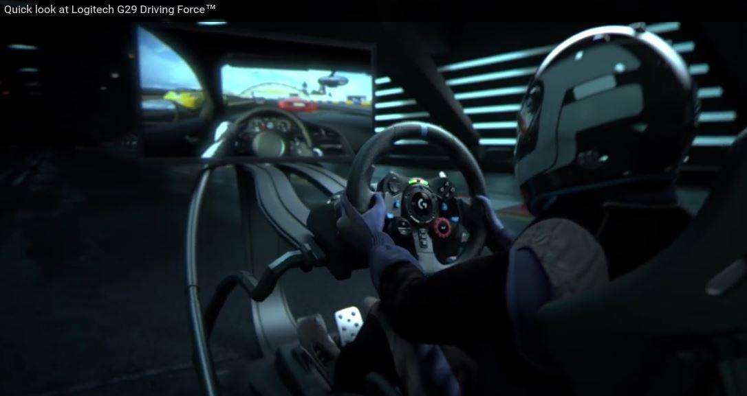 Logitech G29 Driving Force Racing Wheel