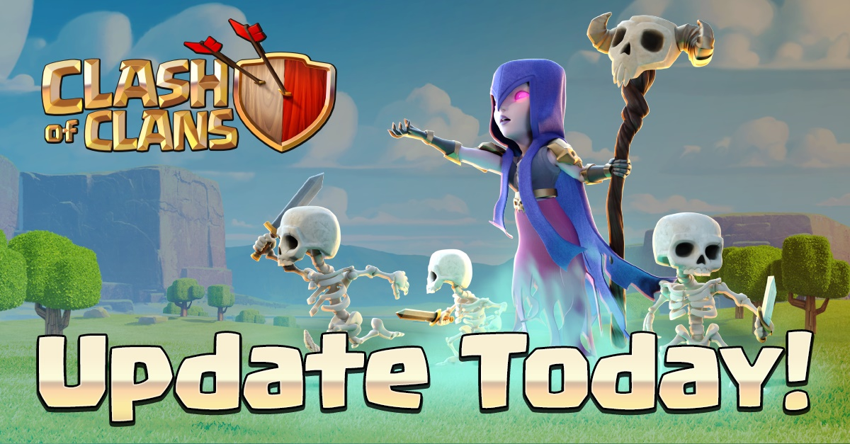 clash of clans, COC juli update