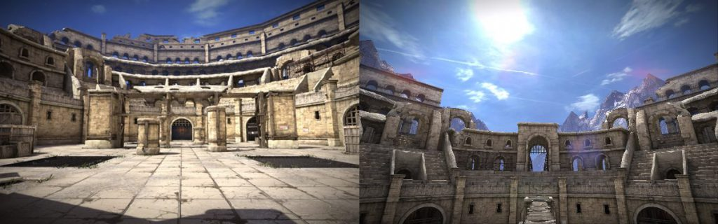 Melee Weapon Map – Colosseum