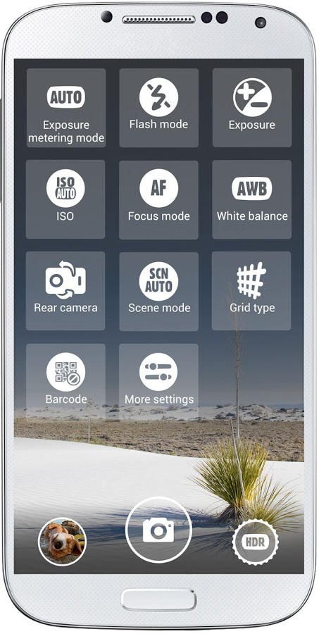 A better camera setting control aplication