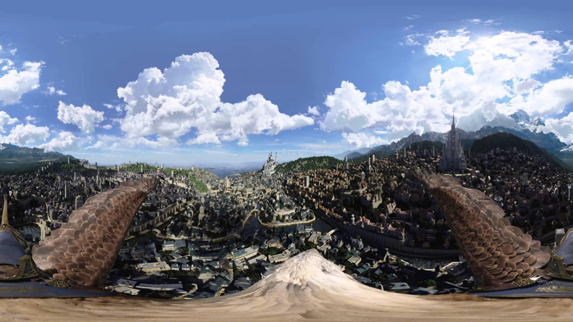 Warcraft movie trailer 360 video