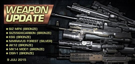 weapon update blacksquad 9 juli 2015