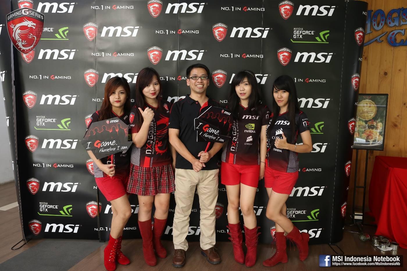 MSI dragon army gathering : MSI PESTIGE INDONESIA