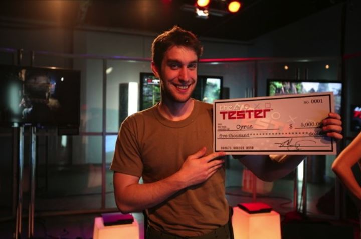 PlayStation game tester winner