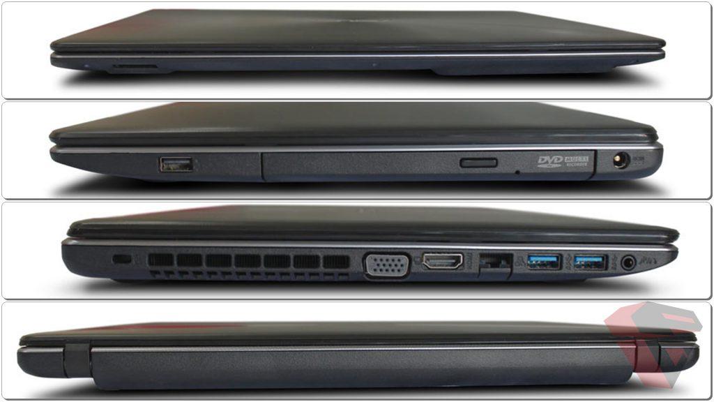 X550ZE Connectivity