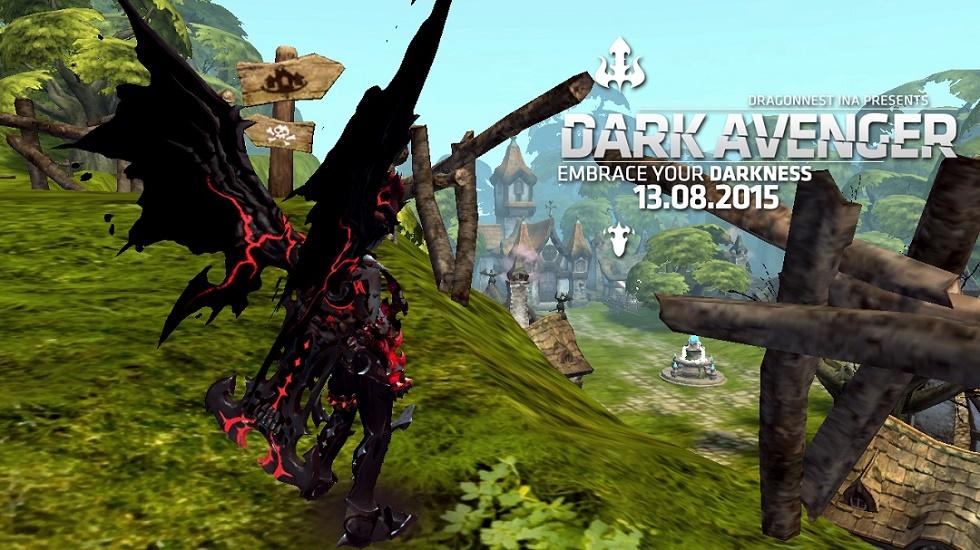 Dark Avenger di DragonNest INA