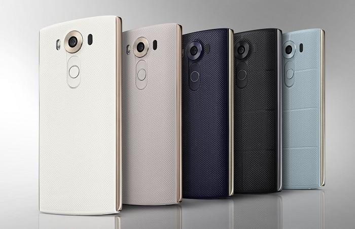 Pilihan Warna LG V10