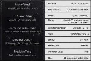 Fitur dan spesifikasi Zeblaze Crystal smartwatch