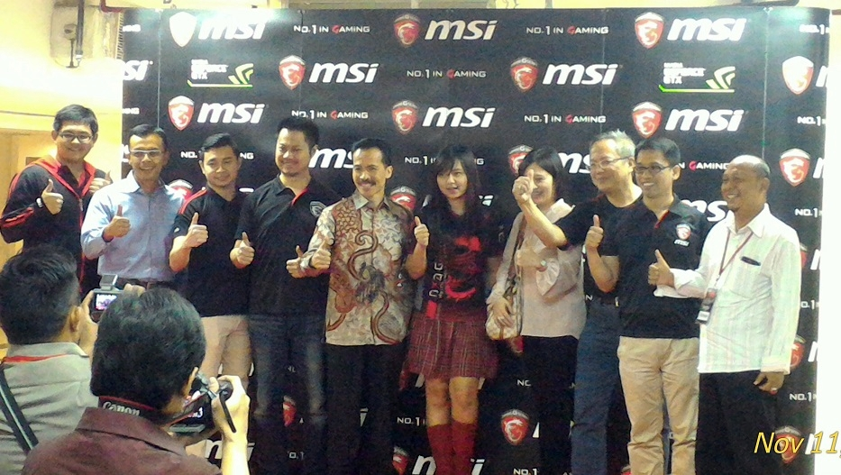 Grand Opening MSI Store Indonesia. NIXIA