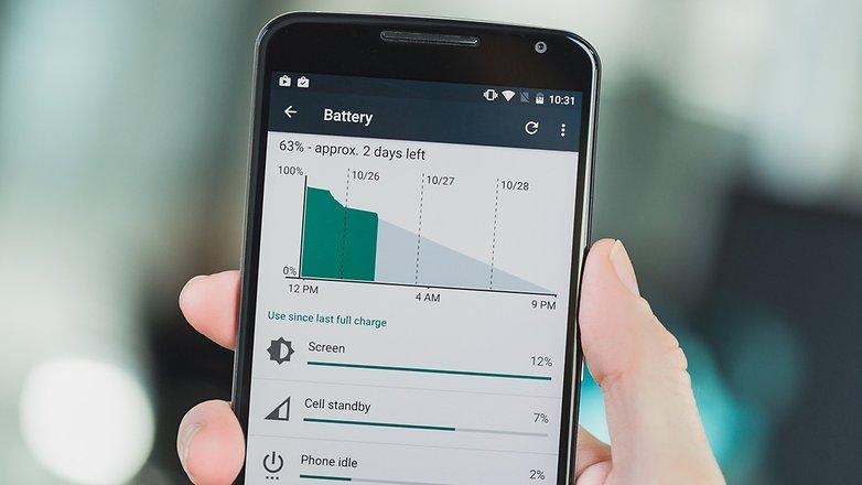 Android marshmallow baterai