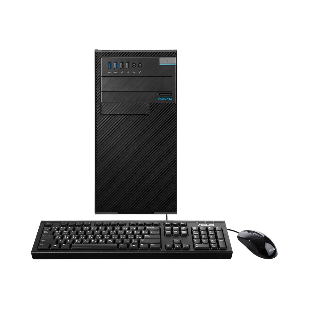Asuspro D820MT front w keyboard