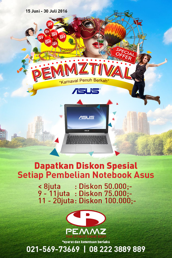 Banner Asus Pemmztival 2016