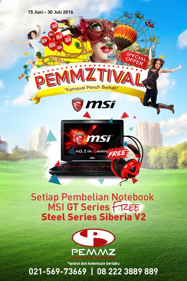 Banner MSI 1 Pemmztival 2016
