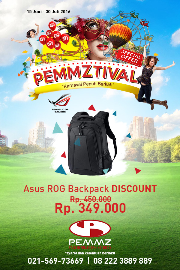 Banner ROG Backpack Pemmztival 2016