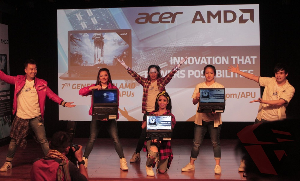 Launching Acer E5-553G with AMD APU 7th Gen