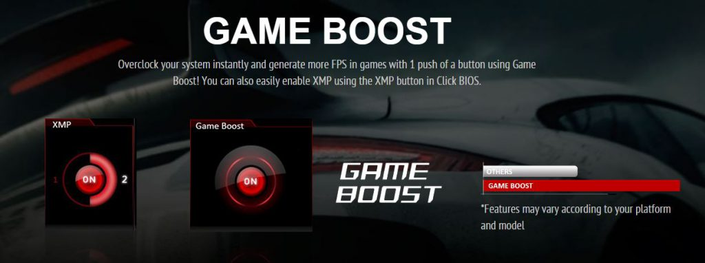 Desktop PC Gaming Custom Game Boost
