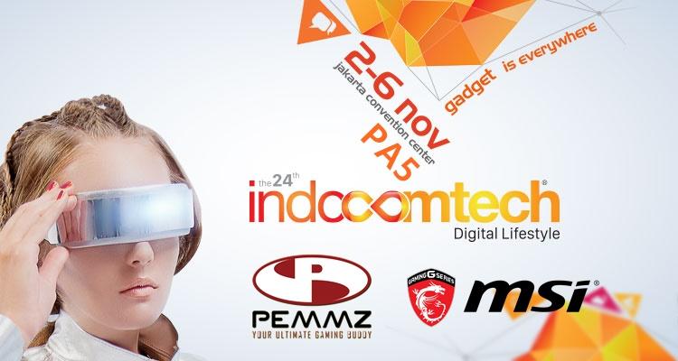 pemmz dan msi di indocomtech 2016