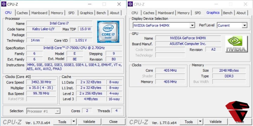 spesifikasi processor dan VGA Asus A456UQ