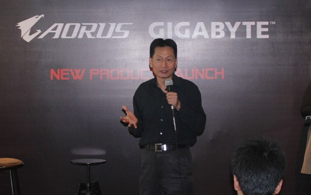 mr Lambert tai Aorus Gigabyte Indonesia