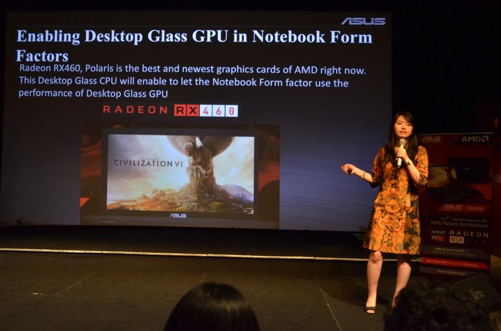 Asus X550IU AMD RAdeon RX 460