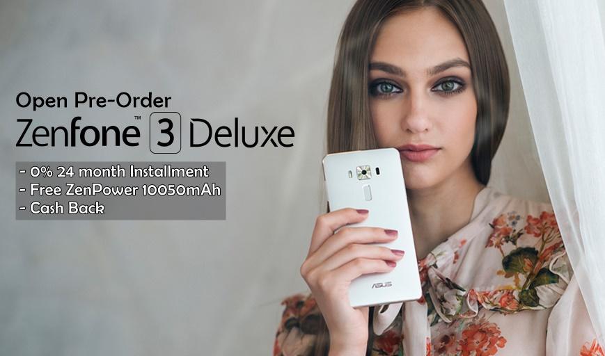 Asus zenfone 3 Deluxe Pre-Order