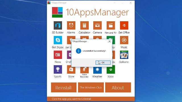 Menghapus Instalasi Program windows membandel dengan 10AppsManager