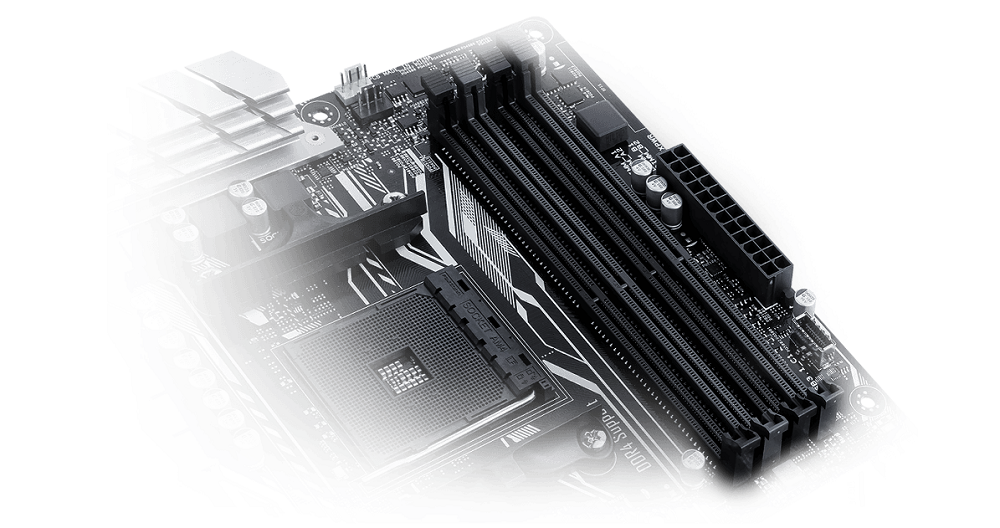 AMD AM4 motherboard from ASUS