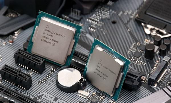 Dua prosessor flagship Intel