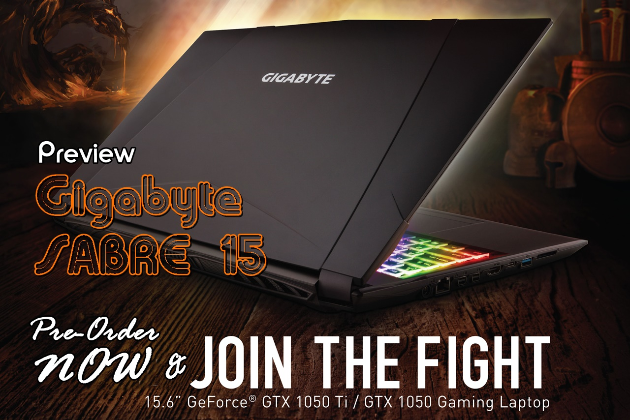Gigabyte Sabre 15 Preview PCN