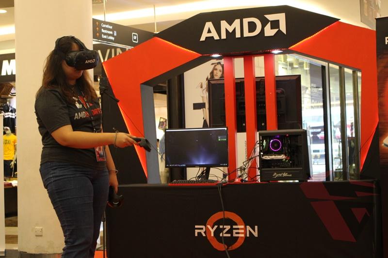AMD eSport DOTA 2 Championship 2017 VR Experience