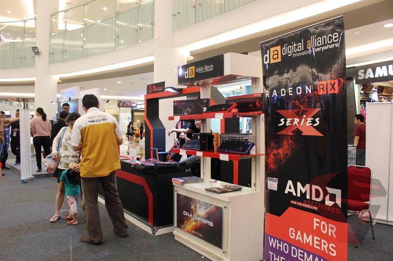 AMD eSport DOTA 2 Championship 2017 untuk perkembangan pasar TI